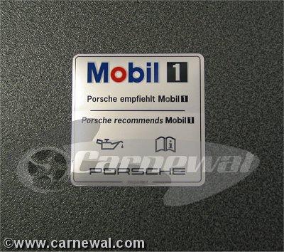 Mobil 1 sticker