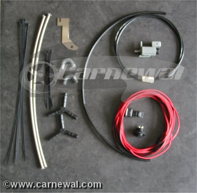 Installation Set for Switchable Exhaust - via Switch