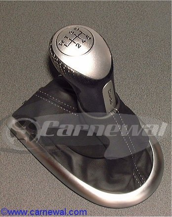 Carbon Leather Shifter Turbo