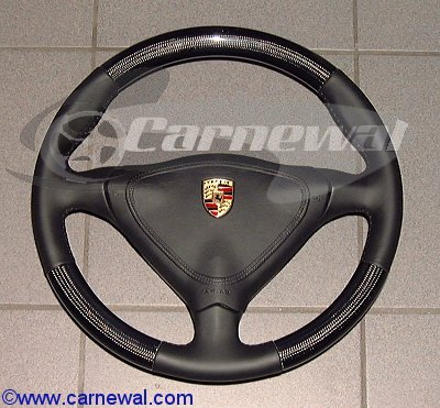 Carbon Leather Steering Wheel Tip version