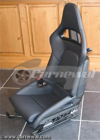 GT2 Seats in Black Leather : 997 version