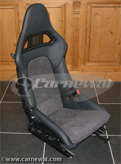 Alcantara cushions for 991GT2 seats